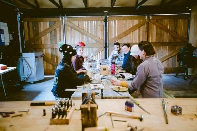 workshop inside